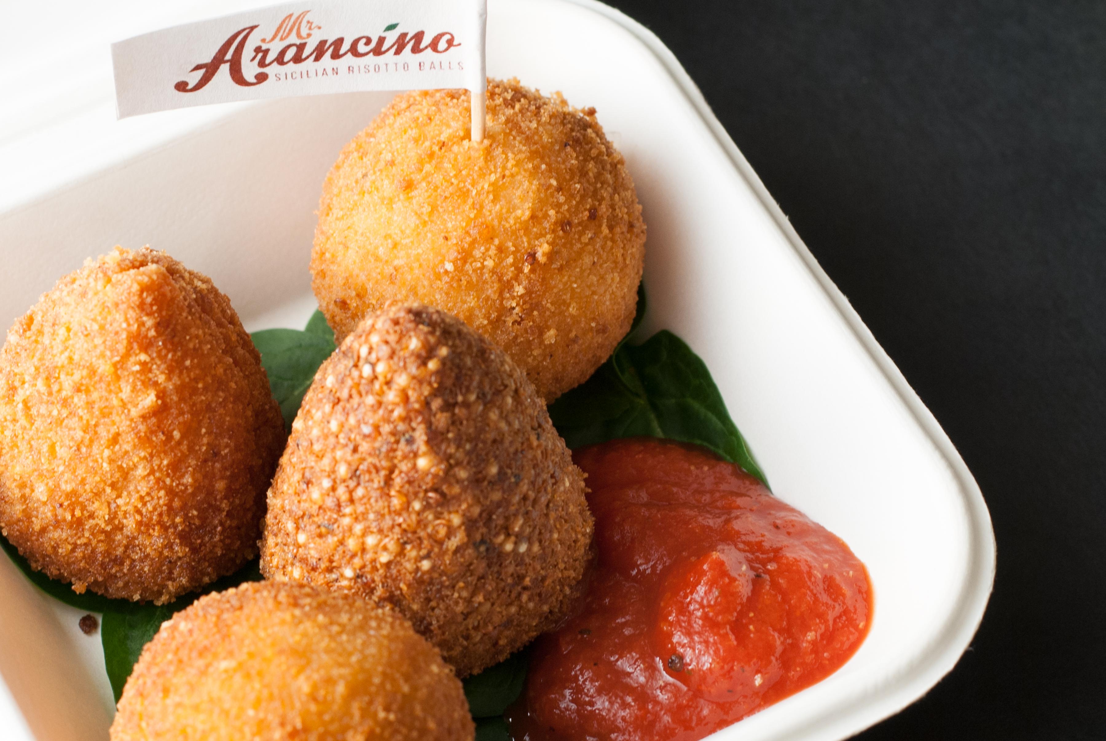 Plated Arancini